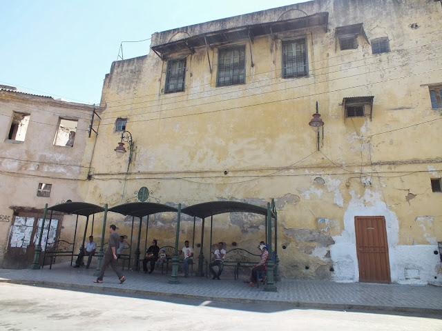 Estación de autobuses en Fez
