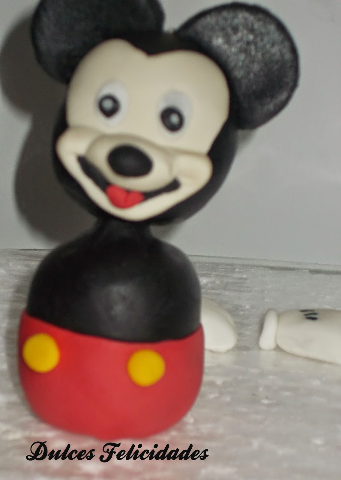 Modelado Mickey Mouse