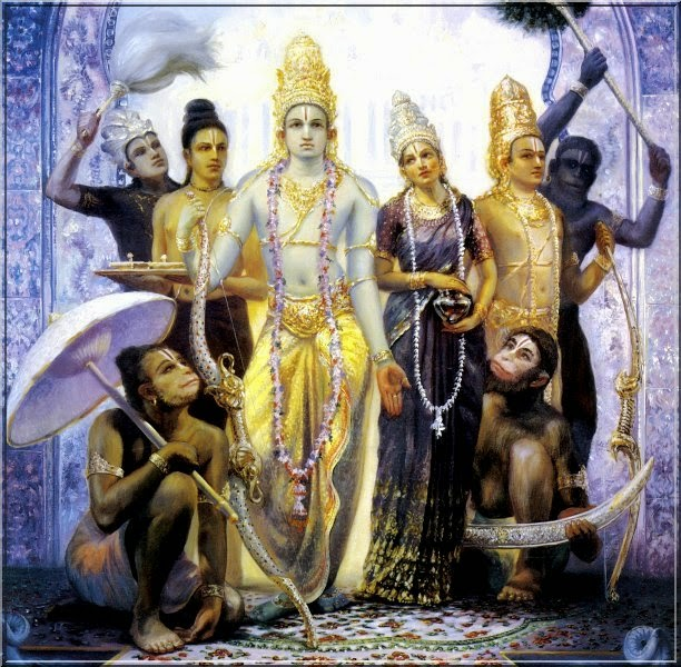 lord rama's return to ayodhya