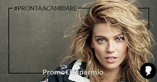 Logo Con Testanera vinci kit di prodotti, consulenza beauty e 1.000 euro di shopping