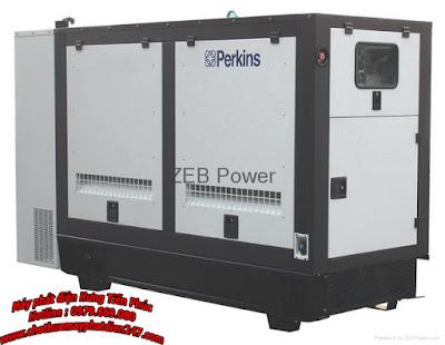 Máy phát điện Perkins 100kva 1006TG1A