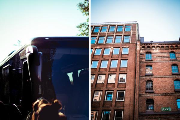 Mit dem Bus durch Hamburg - dem Kaffee auf der Spur | titatoni - Renate Bretzke