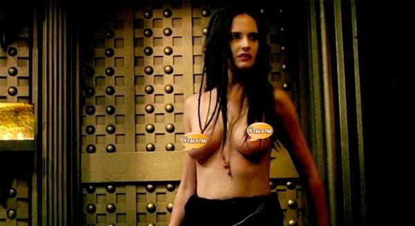 """Eva Green desnuda en """"300 el origen de un imperio"""""""