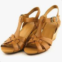 Sandale Clarks Popple Jive, din piele naturala,maron (Clarks)