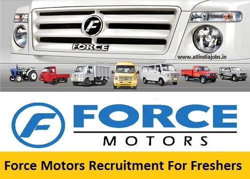 Force Motors Recruitment 2018-2019 Job Openings For Freshers