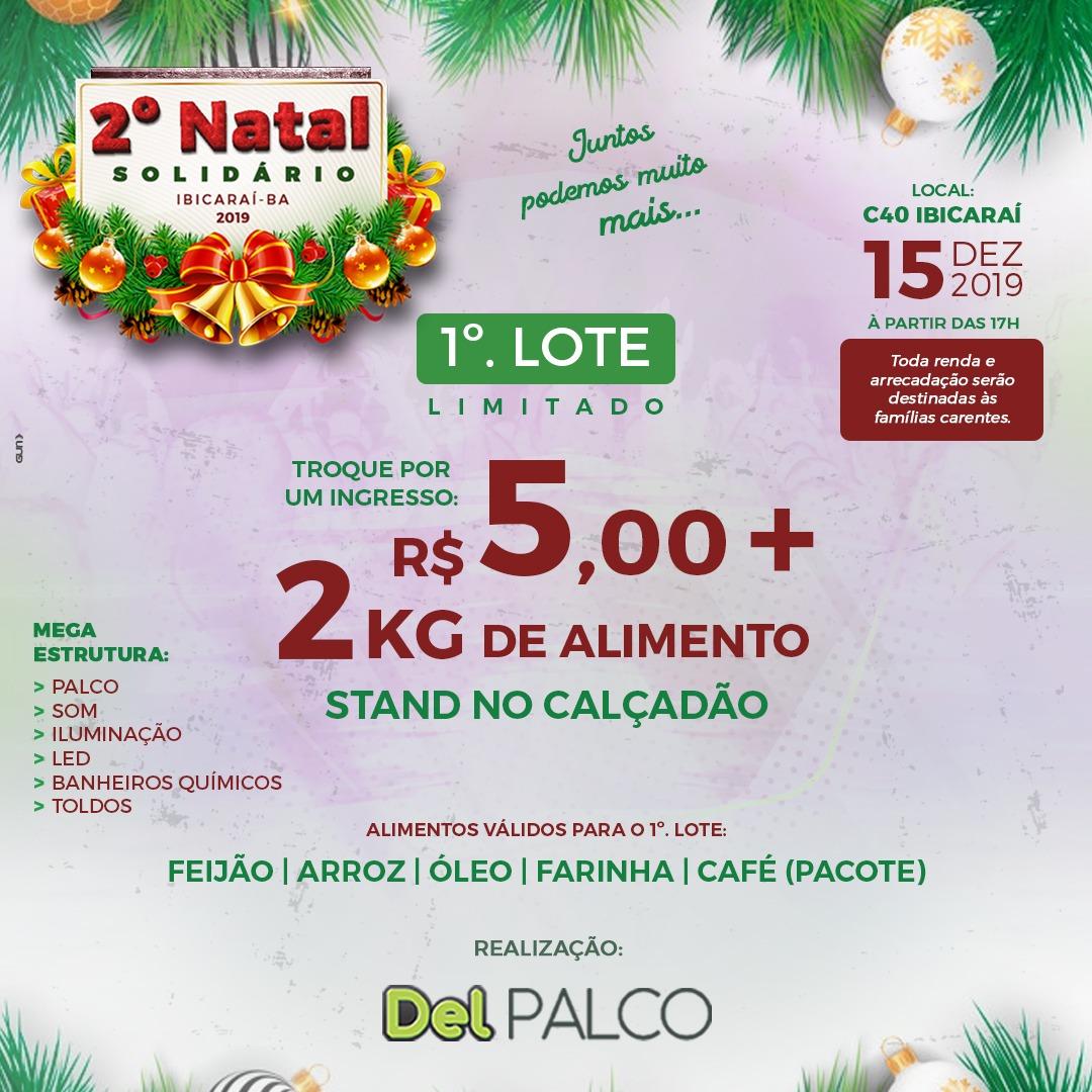 2° Natal solidário 2019
