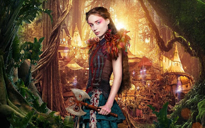 Rooney Mara as Princess Tiger Lily in Pan, Directed by Joe Wright