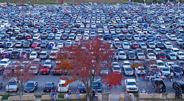 parking lot by Dean Hochman
