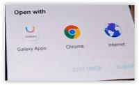 pop up screen - Galaxy J3 2016