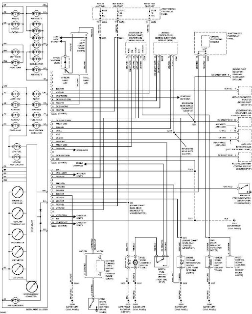 1997 Ford F150 Instrument Cluster Wiring Diagram