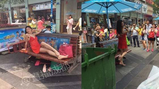 Ramai Nak Pukul Wanita Baju Merah Ini, Kenapa?
