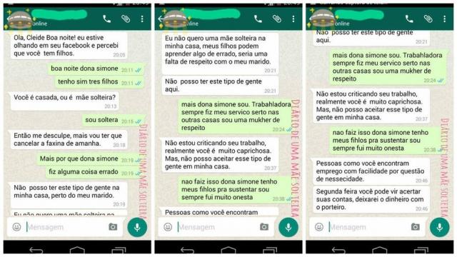 Patroa demite mãe solteira porque 'não pode aceitar esse tipo de gente'
