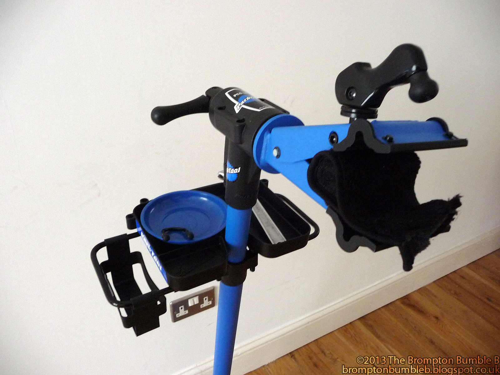 The Legend of the Brompton Bumble B: Review:Park Tool Home
