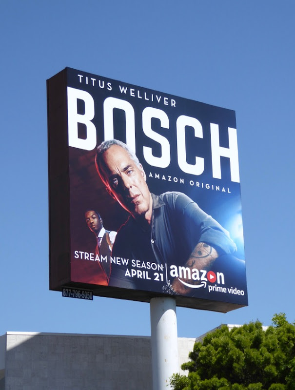 Bosch season 3 Amazon billboard