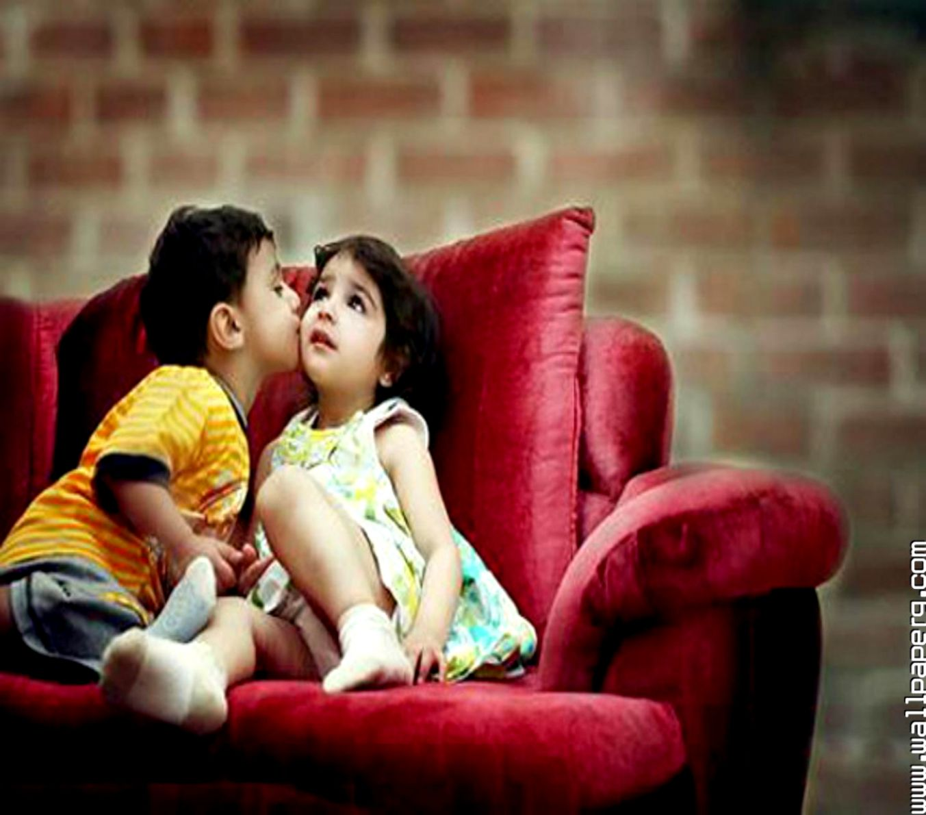 Cute baby couple images