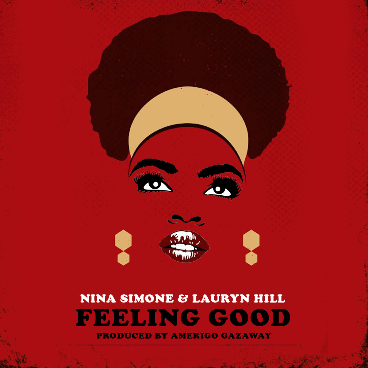 Aus der Serie 'collaborations that never were' von Amerigo Gazaway: Nina Simone & Lauryn Hill - Feeling Good