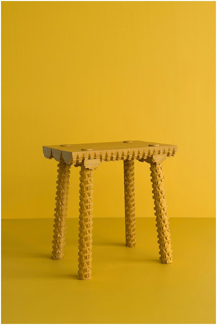 Rustic Stools by Mark Laban