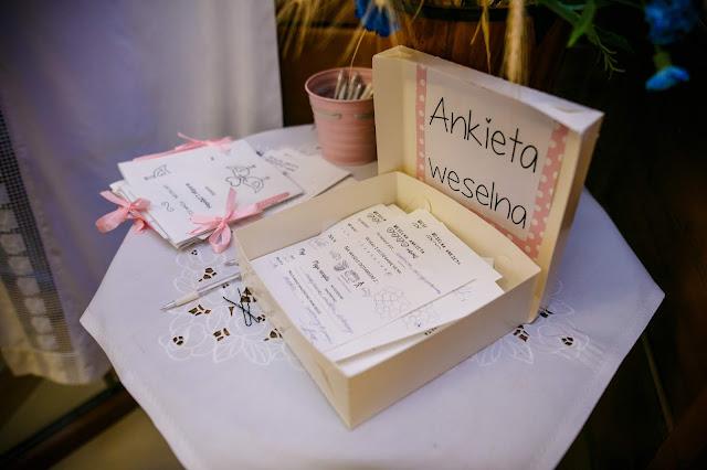 ankieta weselna, ankieta ślubna, zabawa weselna