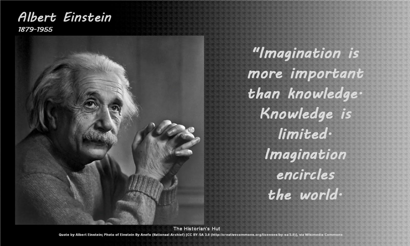 The Historian's Hut Quote Pictures: Albert Einstein