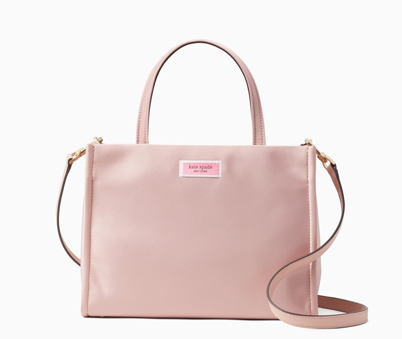 Kate Spade Sam Medium Satchel Bag in Pink