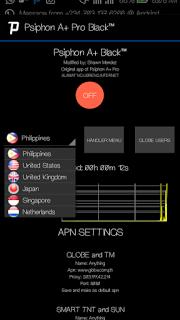 OMG Best Psiphon A+ Pro Applygist Black Apk