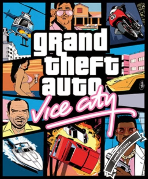 Grand Theft Auto (GTA) Vice City Cover, Poster