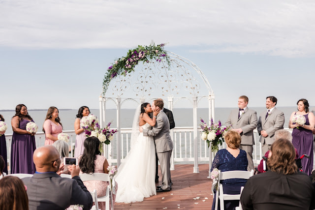 Celebrations at the Bay Wedding in Pasadena MD | Photos by Heather Ryan Photography