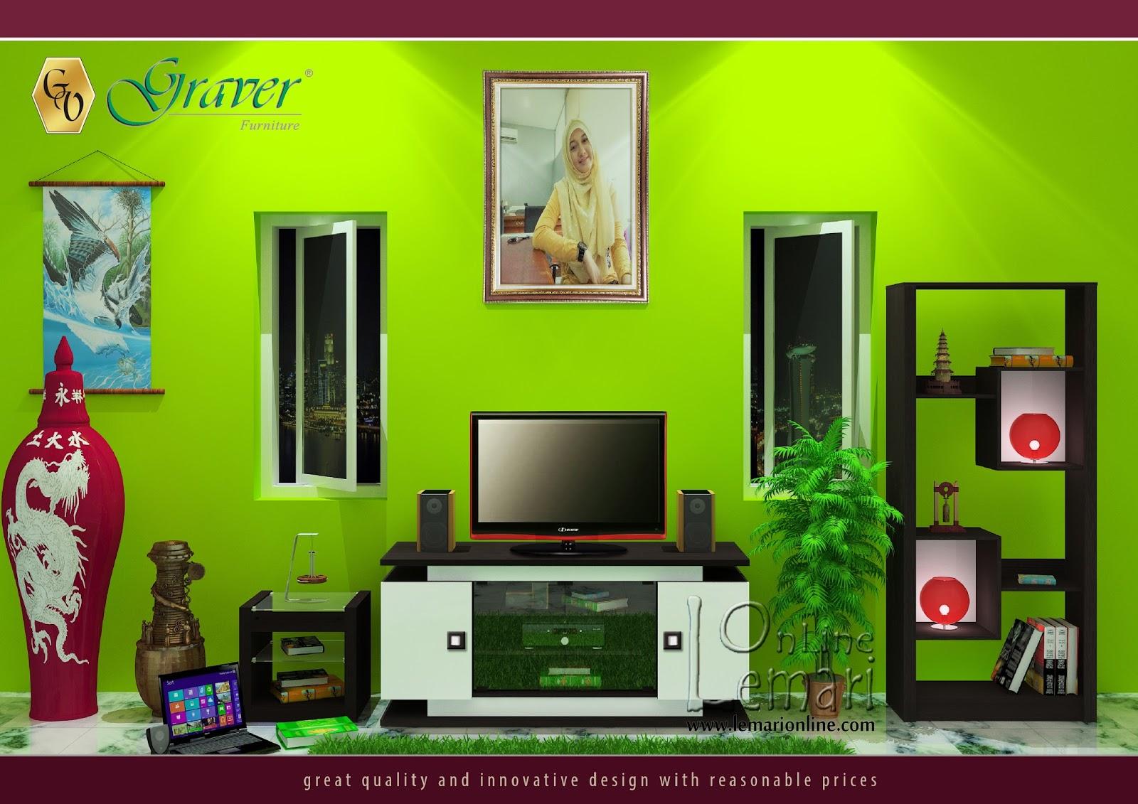 Design minimalis sangat cocok untuk sudut ruangan anda
