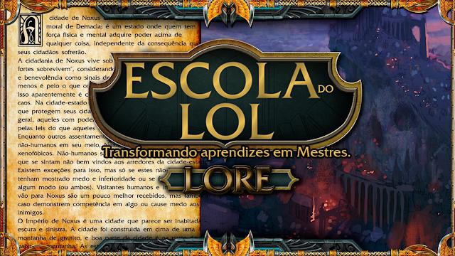 Lore - 34 novas lores para campeões no LoL