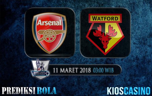 Prediksi Skor Arsenal vs Watford 11 Maret 2018