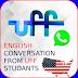 Grupo no Whatsapp  para conversação em inglês.