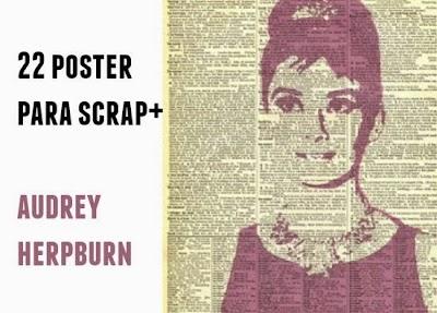 22 Posters de Audrey Hepburn.Coleccion