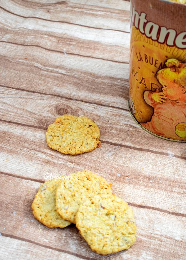 Galletas de Avena y Coco (Overnight Oatmeal Cookies)