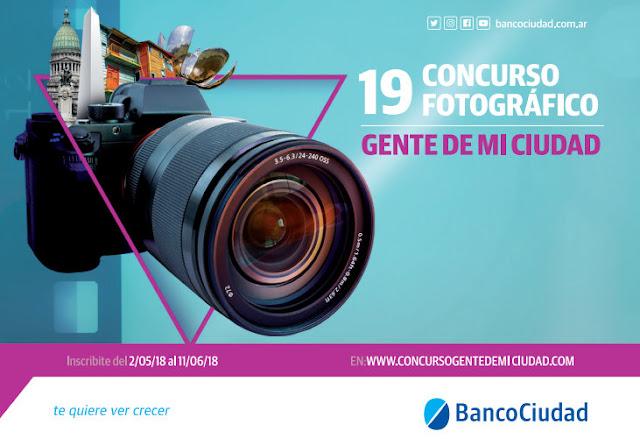 """El Banco Ciudad lanzó la 19° edición del reconocido concurso fotográfico """"Gente de mi ciudad"""""""