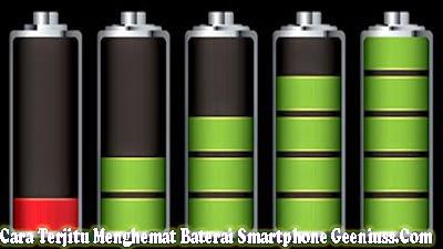 Cara Terjitu Menghemat Baterai Smartphone
