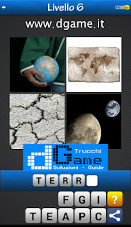 PACCHETTO 5 Soluzioni Trova la Parola - Foto Quiz con Immagini e Parole soluzione livello 6