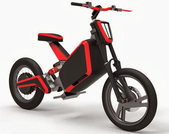 Bruc 01 Sepeda Motor listrik