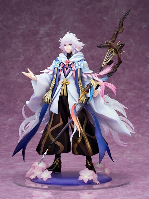 """Figuras: Nuevas imágenes de Caster/Merlin de """"Fate/Grand Order"""" - ALTAiR"""