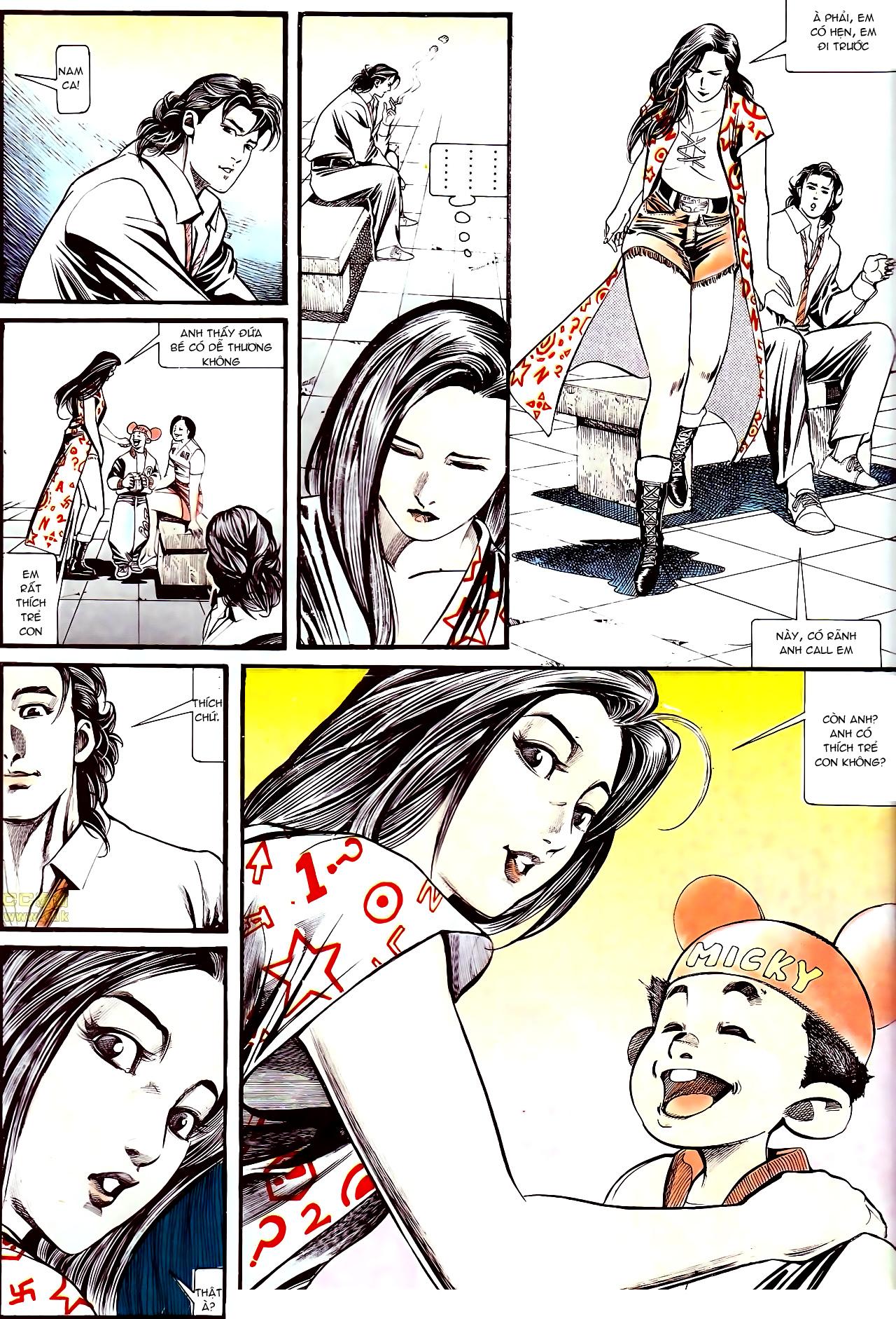 Người Trong Giang Hồ chapter 137: yêu nhất là ai trang 14