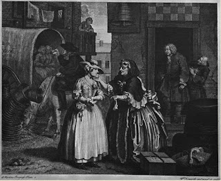 La carrera de una prostituta 1731