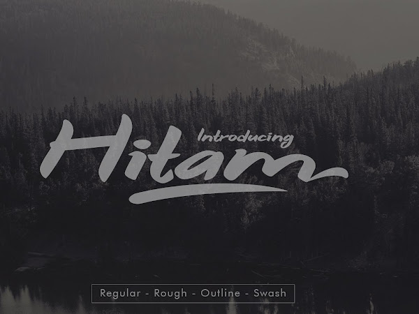 Download Hitam Bold Font Free