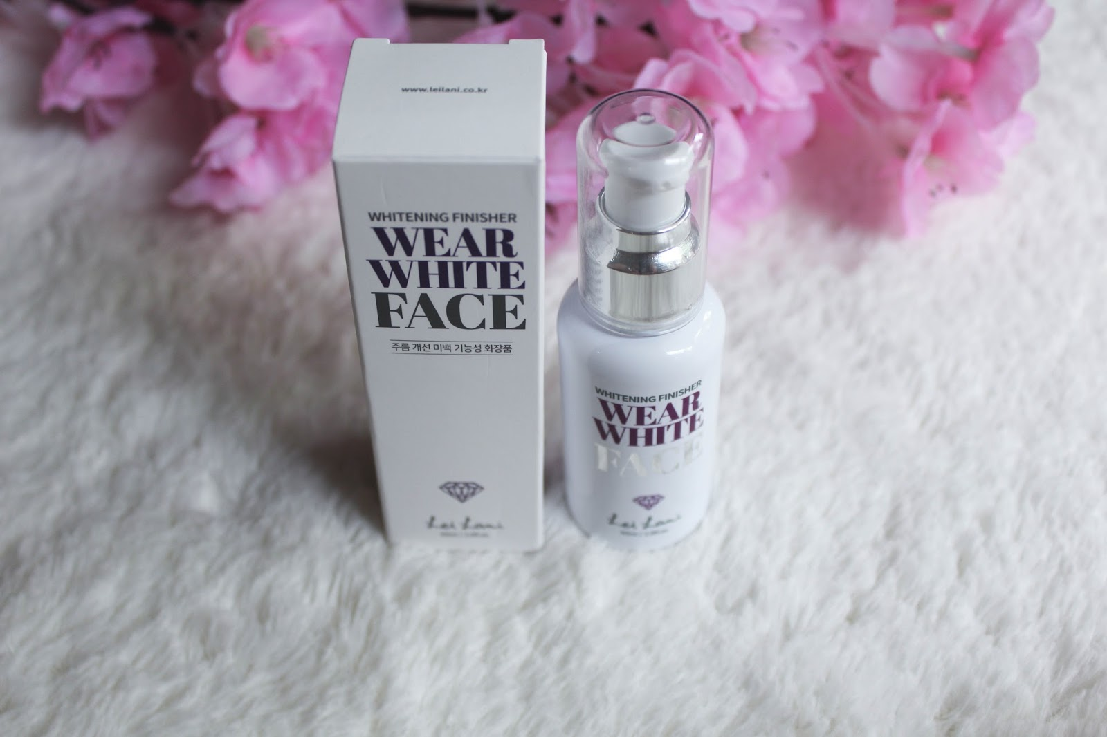 Wear White Face Whitening Finisher Review