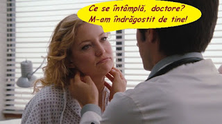 Ce se întâmplă, doctore? M-am îndrăgostit de tine