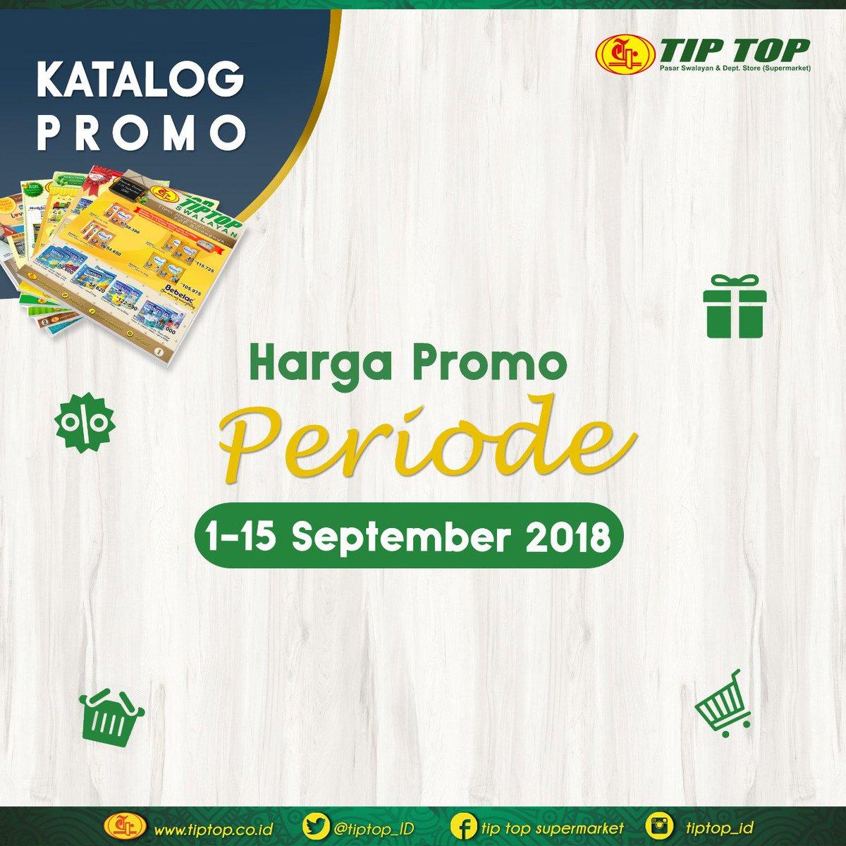 TipTop - Katalog Promo Periode 01 - 15 September 2018