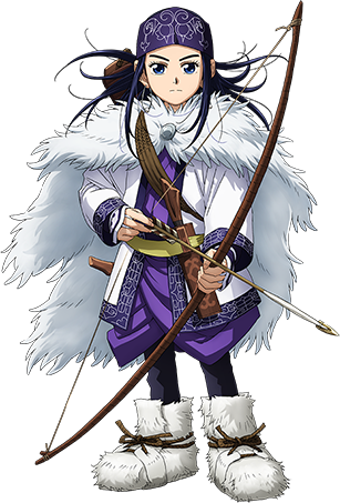 Haruka Shiraishi es la voz de Asirpa.