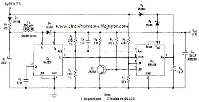 Build a Ups 5 Volt Circuit Diagram