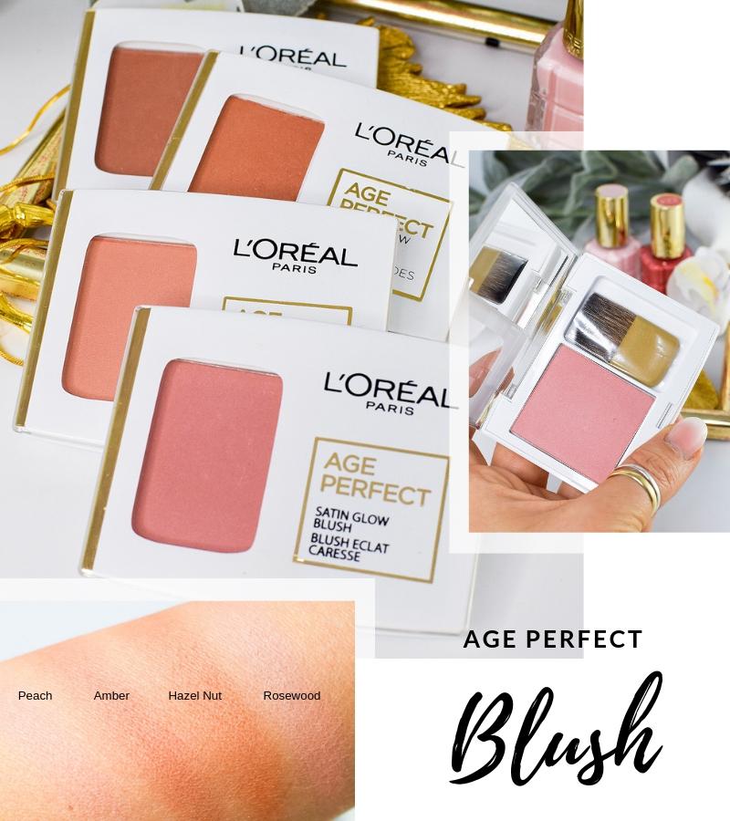 Übersicht und Test der L'Oréal Age Perfect Foundation Blushes