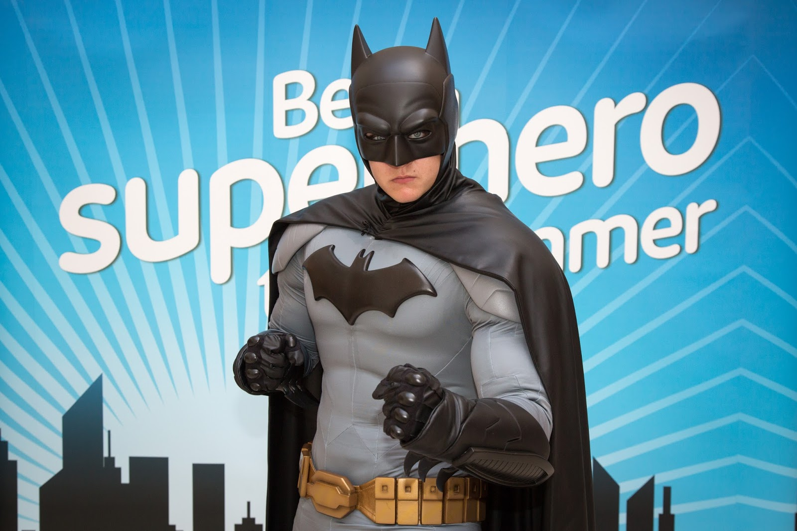 Grab Your FREE Tickets to meet BATMAN at intu Eldon Square - Sunday 31st July