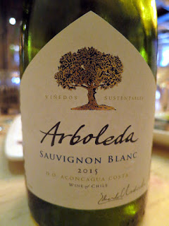 Arboleda Sauvignon Blanc 2015 - DO Aconcagua Coast, Chile (86 pts)