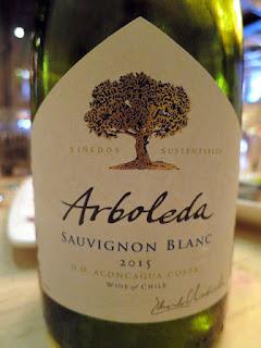 Arboleda Sauvignon Blanc 2015 - DO Aconcagua Coast, Chile (86 pts)